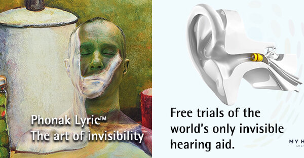 Free trials of the world's only invisible hearing aid